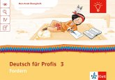 Mein Anoki-Übungsheft. Deutsch für Profis. 3. Schuljahr. Arbeitsheft