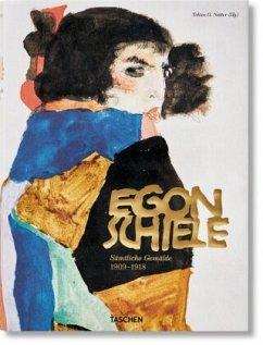 Egon Schiele. Sämtliche Gemälde 1909-1918 - Schiele, Egon