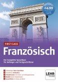 First Class Französisch, 4 CD-ROMs + Audio-CD