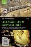360° - GEO Reportage: Legendäre Eisenbahnstrecken (2 Discs)