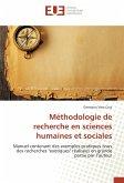 Méthodologie de recherche en sciences humaines et sociales