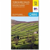 Ordnance Survey Map Yorkshire Dales - Northern & Central Area