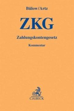 Zahlungskontengesetz (ZKG) - Bülow, Peter; Artz, Markus