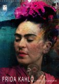 FRIDA KAHLO in memory of a great artist (Wandkalender 2017 DIN A3 hoch)