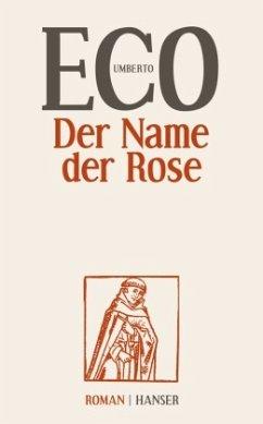 Der Name der Rose - Eco, Umberto