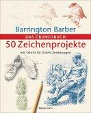 50 Zeichenprojekte mit Schritt-für-Schritt-Anleitungen (eBook, ePUB)
