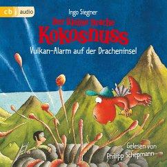 Vulkan-Alarm auf der Dracheninsel / Die Abenteuer des kleinen Drachen Kokosnuss Bd.24 (MP3-Download) - Siegner, Ingo