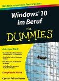 Windows 10 im Beruf für Dummies (eBook, ePUB)