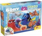 Finding Dory (Kinderpuzzle), Double Face Plus 60