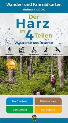 Der Harz in 4 Teilen, 4 Bl.