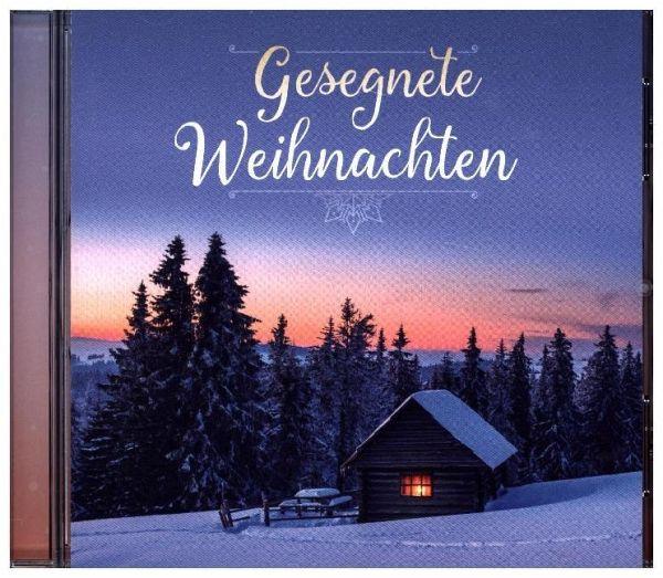 gesegnete weihnachten 1 audio cd cd. Black Bedroom Furniture Sets. Home Design Ideas