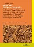 Studien zum »Römischen Völkerrecht« (eBook, PDF)