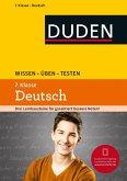 Wissen - Üben - Testen: Deutsch 7. Klasse (eBook, PDF)