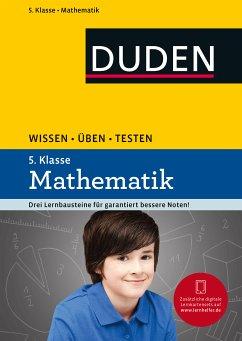 Wissen - Üben - Testen: Mathematik 5. Klasse (eBook, PDF) - Bornemann, Michael