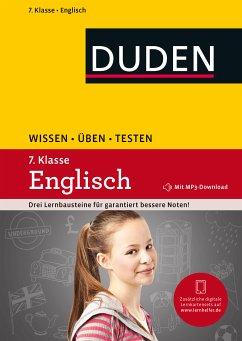 Wissen - Üben - Testen: Englisch 7. Klasse (eBook, PDF)