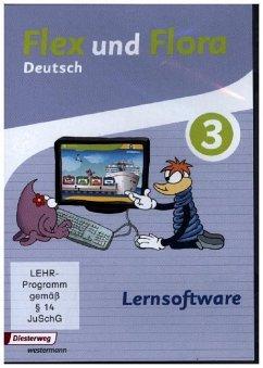 Lernsoftware 3, 1 CD-ROM / Flex und Flora - Deutsch