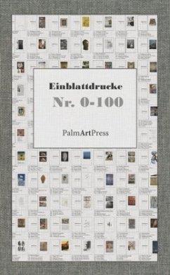 Einblattdruck Nr. 0-100