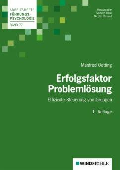 Erfolgsfaktor Problemlösung - Oetting, Manfred