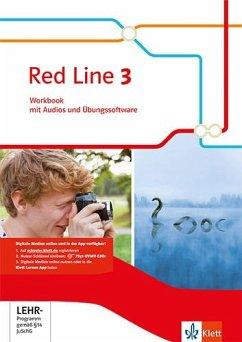 Red Line 3. Workbook mit Audio-CD und Übungssoftware. Ausgabe 2014