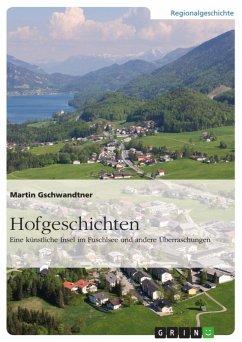 Hofgeschichten. Eine künstliche Insel im Fuschlsee und andere Überraschungen (eBook, ePUB)