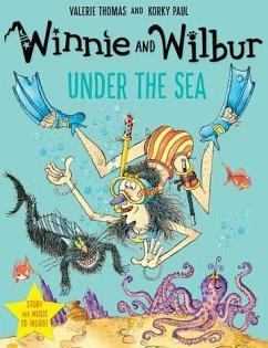 Winnie Under the Sea. Book + CD - Thomas, Valerie