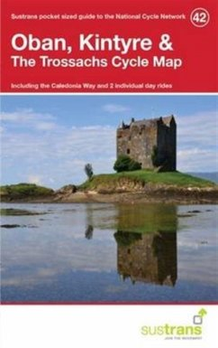 Oban, Kintyre & the Trossachs Cycle Map 42 - Sustrans