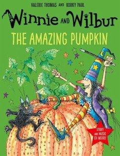 Winnie's Amazing Pumpkin. Book & CD - Thomas, Valerie