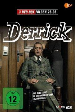 Derrick - Folge 28-36 (3 Discs)