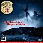 Detektei Bates 03 – Die Insel des Bogenschützen (MP3-Download)