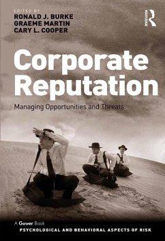Corporate Reputation (eBook, ePUB) - Burke, Ronald J.; Martin, Graeme