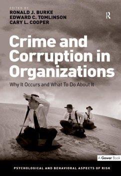 Crime and Corruption in Organizations (eBook, ePUB)
