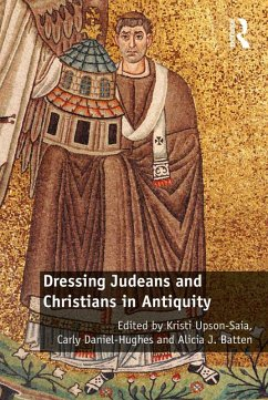 Dressing Judeans and Christians in Antiquity (eBook, PDF)
