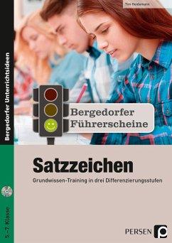 Führerschein: Satzzeichen - Sekundarstufe