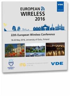 European Wireless 2016, 1 CD-ROM