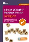 Einfach und sicher bewerten im Fach Religion