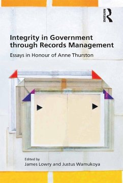 Integrity in Government through Records Management (eBook, ePUB)
