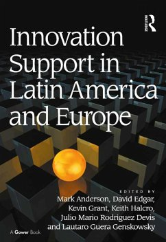 Innovation Support in Latin America and Europe (eBook, PDF)
