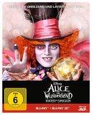 Alice im Wunderland: Hinter den Spiegeln (Blu-ray 3D + Blu-ray, Steelbook)