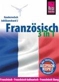 Reise Know-How Sprachführer Französisch 3 in 1: Französisch, Französisch kulinarisch, Französisch Slang