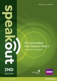 Flexi Students' Book 2, w. DVD-ROM and MyEnglishLab / Speakout Pre-Intermediate, 2nd edition