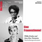 Eine Frauenstimme! Die Nachrichtensprecherinnen Wibke Bruhns & Anne-Rose Neumann (MP3-Download)