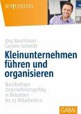 Kleinunternehmen führen und organisieren (eBook, PDF)