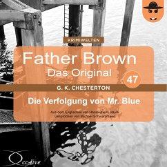 Die Verfolgung von Mr. Blue (MP3-Download) - Chesterton, Gilbert Keith; Haefs, Hanswilhelm