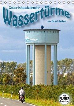 Geburtstagskalender Wassertürme (Tischkalender ...