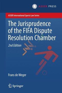 The Jurisprudence of the FIFA Dispute Resolution Chamber - de Weger, Frans