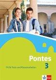 Pontes 3. Fit für Tests und Klassenarbeiten. Arbeitsheft mit Lösungen