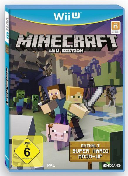 Minecraft Wii U Edition Inkl Super Mario MashUp Spiel Bücherde - Minecraft spiele mit waffen
