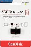 SanDisk Ultra Dual Drive V2 64GB USB 3.0/Micro SDDD2-064G-GAM46