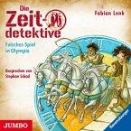 Falsches Spiel in Olympia / Die Zeitdetektive Bd.10 (CD)