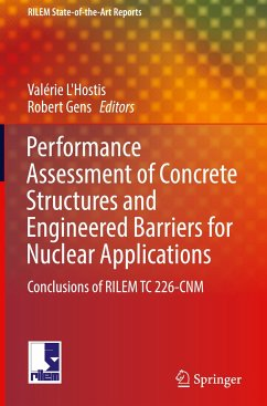 Performance Assesment of Concrete Structures and Engineered Barriers for Nuclear Applications